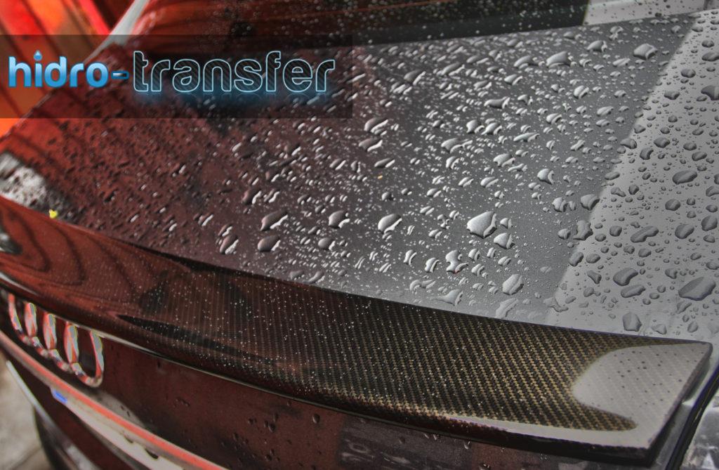 Audi A6 Eleron carbon hidro-transfer
