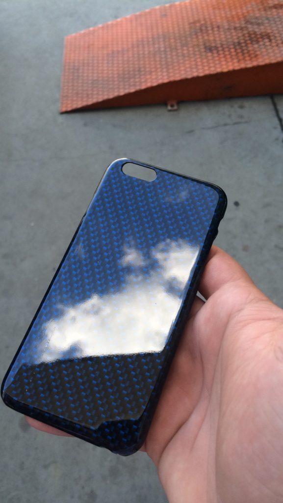 Folie carcasa telefon carbon Hidro-transfer