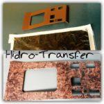 Consola Mercedes reconditionare + mahon hidro-transfer