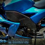 Cadru moto kawsaki zx10r carbon hidro-transfer