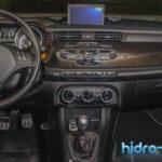 Consola Alfa Romeo Giulietta - carbon hidro-transfer